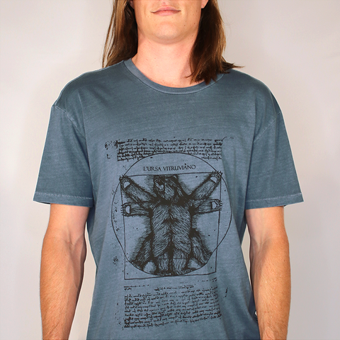 VITRUVIAN: Blue limited edition tee