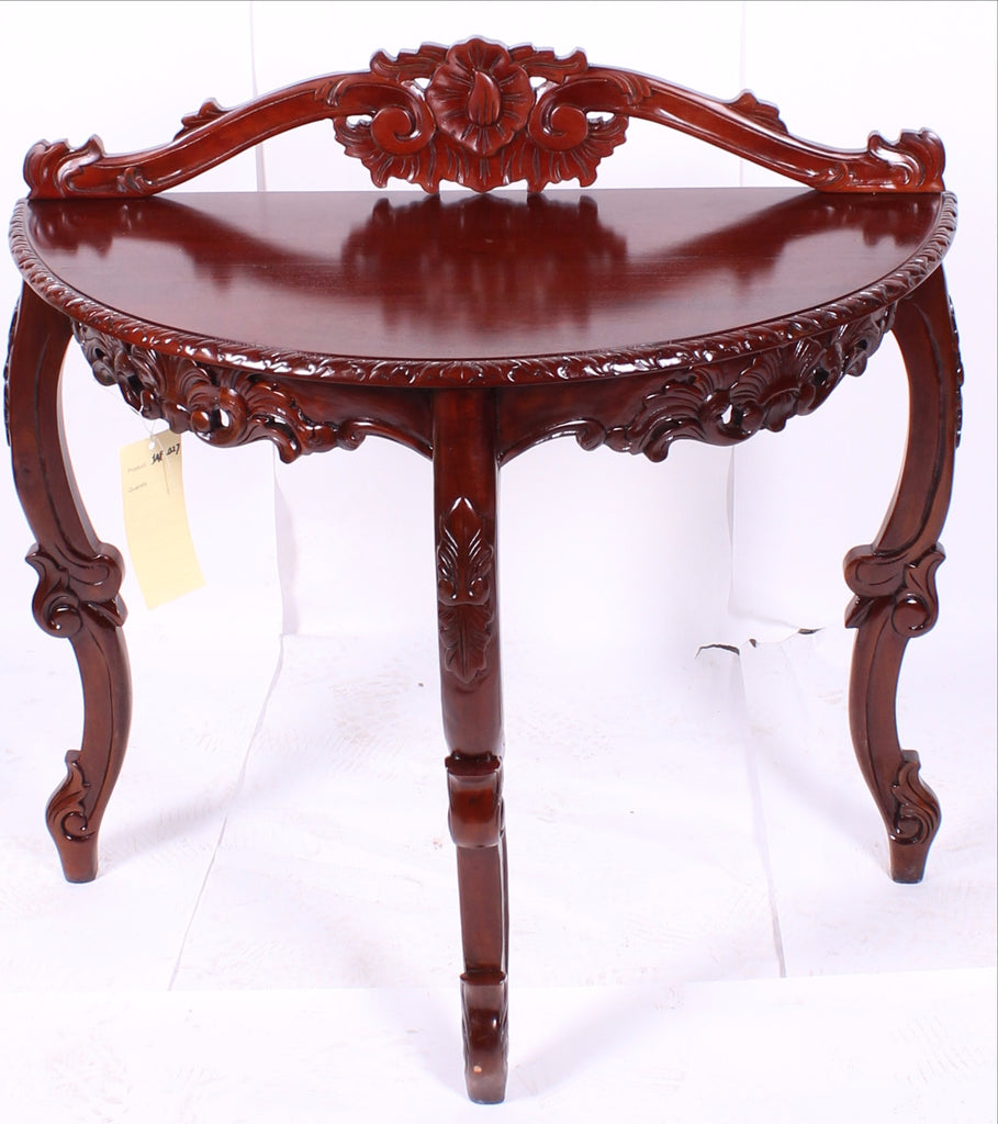 Victorian hand carved wood console table vw02 americas best victorian hand carved wood console table vw02 geotapseo Gallery
