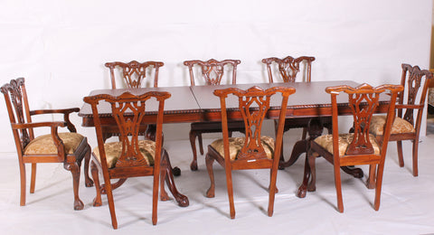 dinning table with 8 chairs-DT01