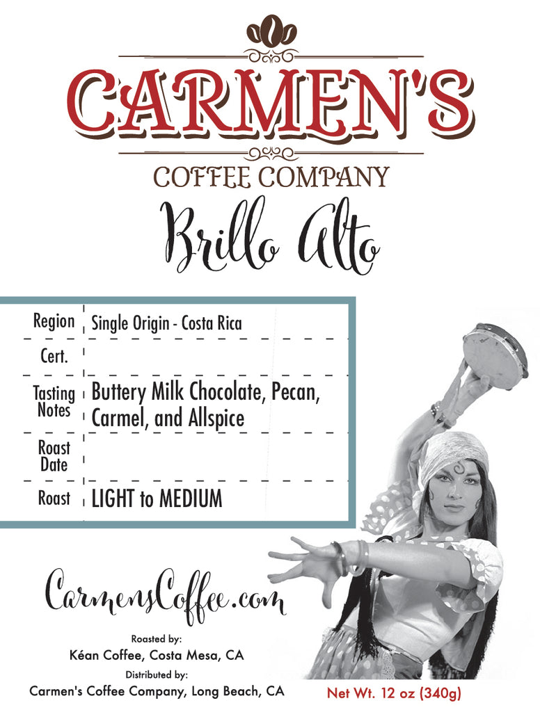 Brillo Alto - Single Origin (12oz.)