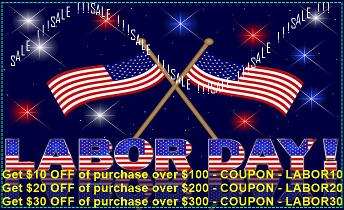 Labor Day Coupon codes !