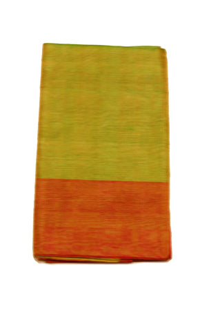 Uppada Tissue Silk  Saree in Pink and Green Color