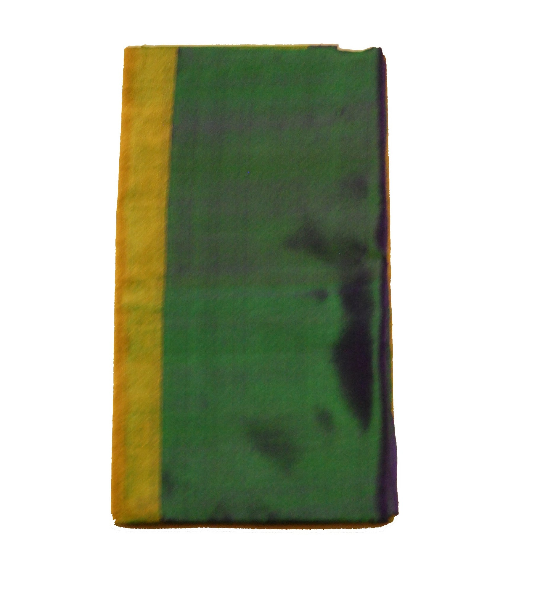 Uppada Tissue Silk  Saree in Olive Green, Blue blended with Golden Color
