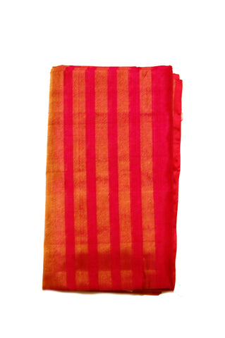 Pure Light weight Uppada Silk Saree in Orange and Pink Color