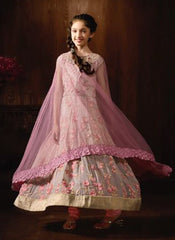 Stitched Girl's Anarkali Suits