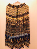 Rayon Multicolor Printed Skirt -3