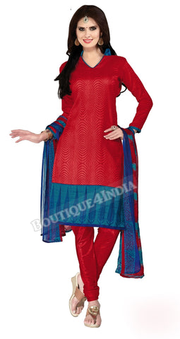 Maroon Color Bahagalpuri Silk Straight Cut Salwar Suit