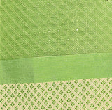 Tender leaf green Color Chanderi Embroidered Straight Cut Salwar Suit
