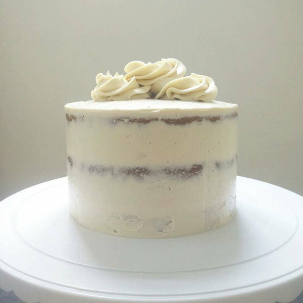 "Vanilla Naked Cake - ""Top Choice"""