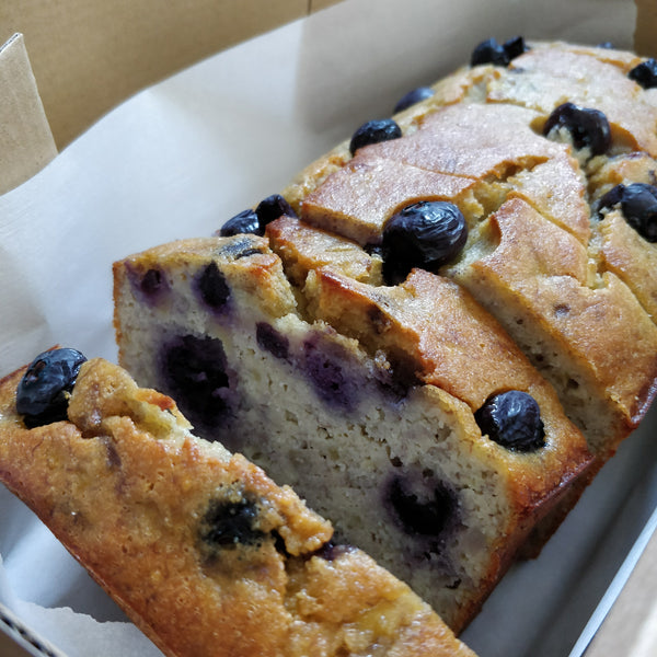 Blueberry Banana Loaf (Dairy Free)