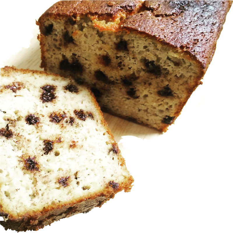 Chocolate Chip Banana Loaf (Dairy Free)