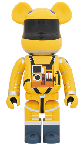 Bearbrick Space Suit Yellow 1000% - Bearbrick 1000%