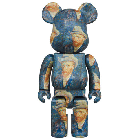 BE@RBRICK (Van Gogh Museum) Self-Portrait with Grey Felt Hat 1000%