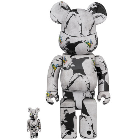 BE@RBRICK Flower Bomber 100% & 400%