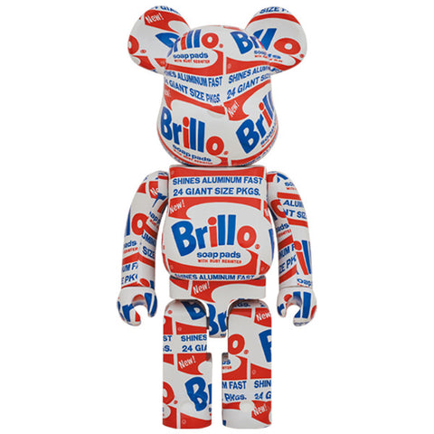 "BE@RBRICK Andy Warhol ""Brillo"" 1000%"