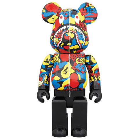 "Medicom Toy BE@RBRICK ""Camo Shark"" 400% - ActionCity"