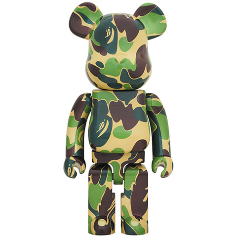 BE@RBRICK ABC Camo 1000% Green