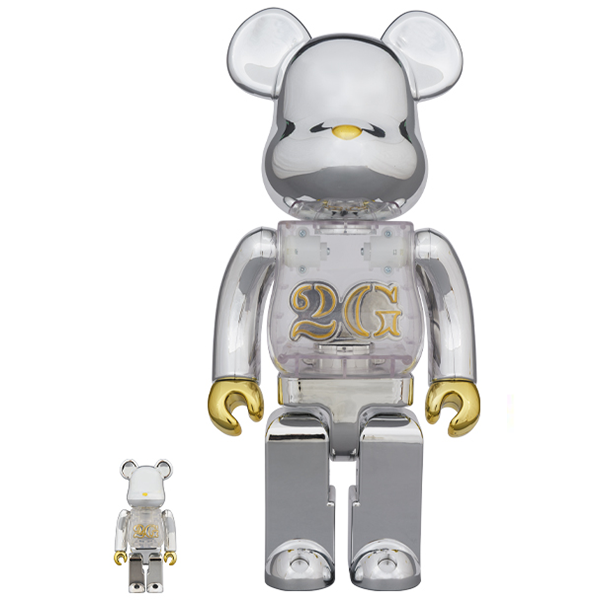 BE@RBRICK 2G 100% & 400% - ActionCity