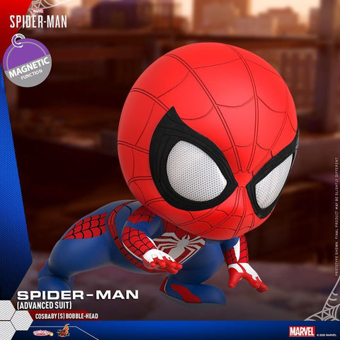 COSB769 - Spider-Man (Advanced Suit) Cosbaby (S) Bobble-Head