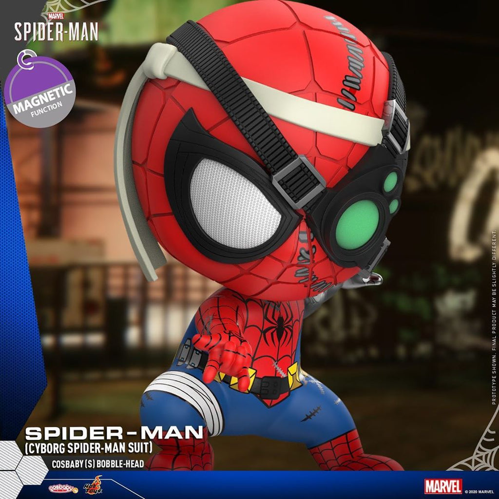 COSB773 - Spider-Man (Cyborg Spiderman Suit) Cosbaby (S) Bobble-Head