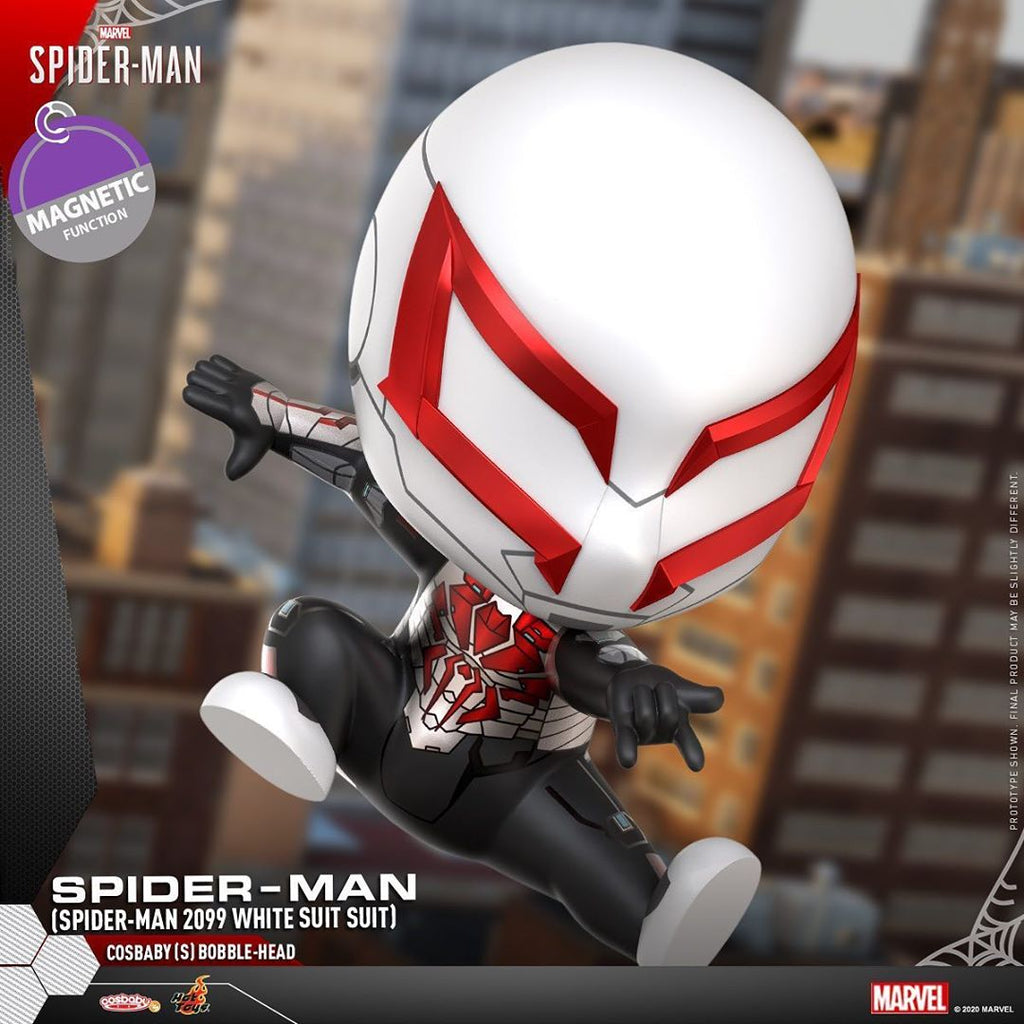 COSB770 - Spider-Man (Spider-Man 2099 White Suit) Cosbaby (S) Bobble-Head