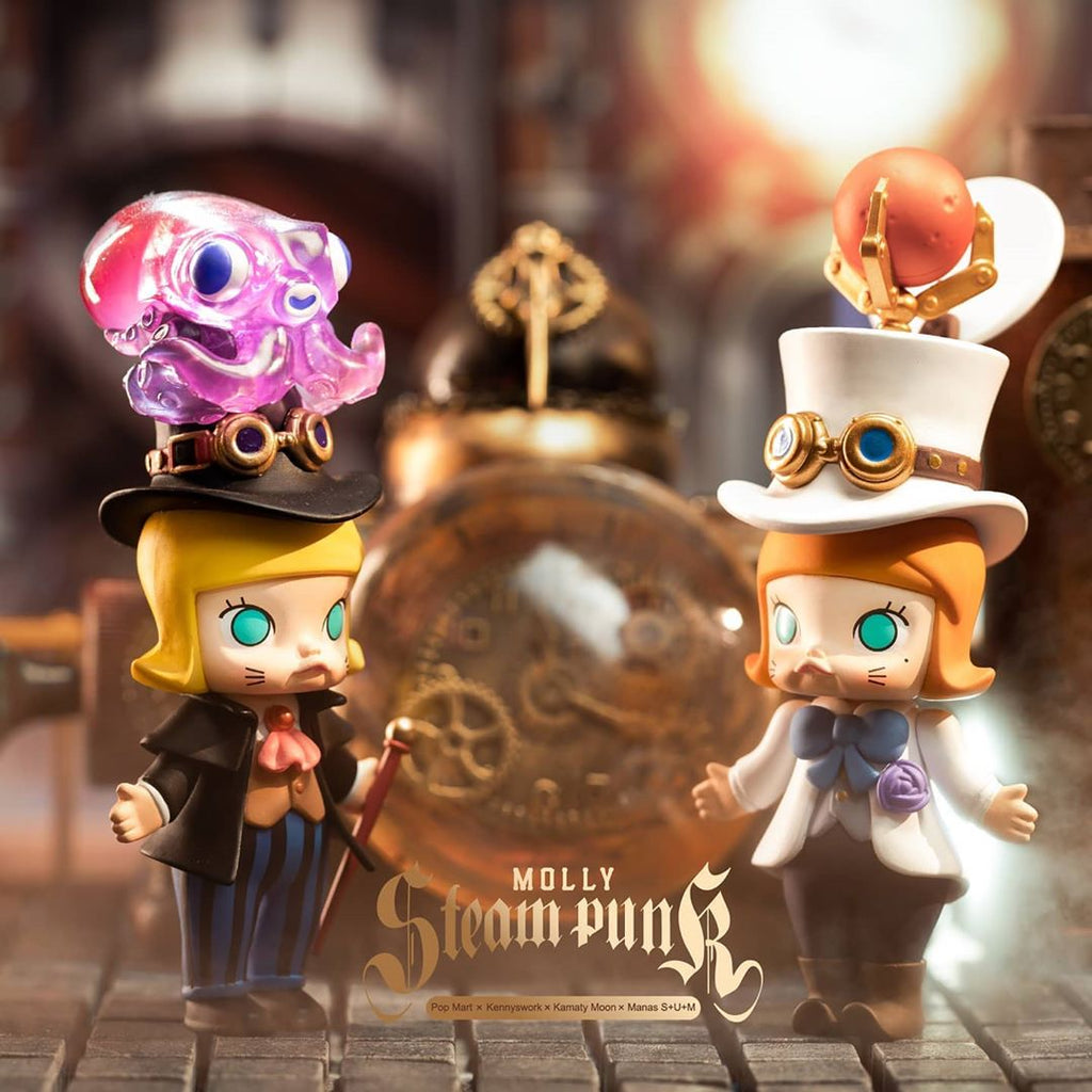 ActionCity Live: Pop Mart Molly Steam Punk - Case of 12 Blind Boxes - ActionCity