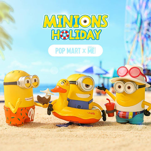 ActionCity Live: Pop Mart Minions Holiday - Case of 12 Blind Boxes