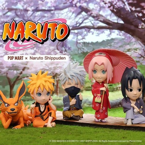 Pop Mart Naruto Series