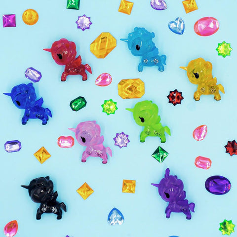 ActionCity Live: tokidoki Unicorno Gems - Case of 12 Blind Boxes