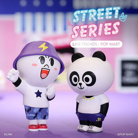 ActionCity Live: Pop Mart LINE Friends Street Series - Case of 12 Blind Boxes