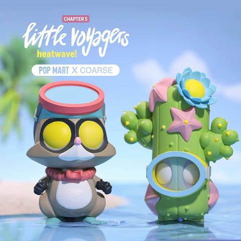 ActionCity Live: Pop Mart COARSE Little Voyagers Chapter 4 heatwave! - Case of 6 Blind Boxes - ActionCity