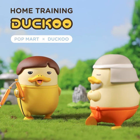 ActionCity Live: Pop Mart Duckoo Home Training - Case of 8 Blind Boxes - ActionCity