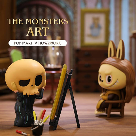 ActionCity Live: Pop Mart The Monsters Art Series - Case of 12 Blind Boxes