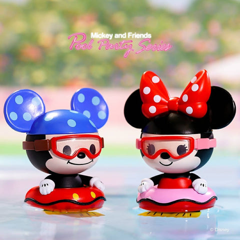 ActionCity Live: Pop Mart Mickey And Friends Pool Party Series - Case of 12 Blind Boxes