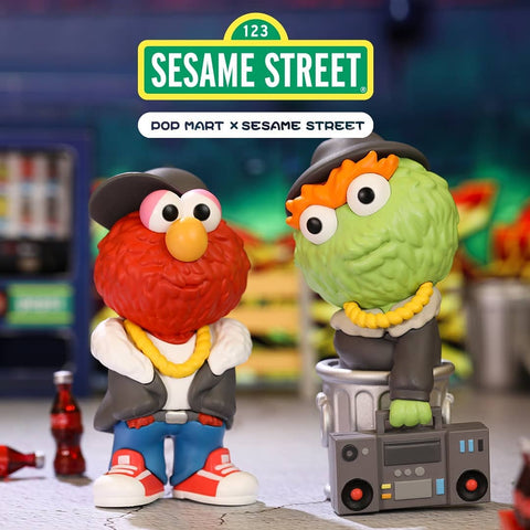 ActionCity Live: Pop Mart Sesame Street Street Series - Case of 12 Blind Boxes - ActionCity