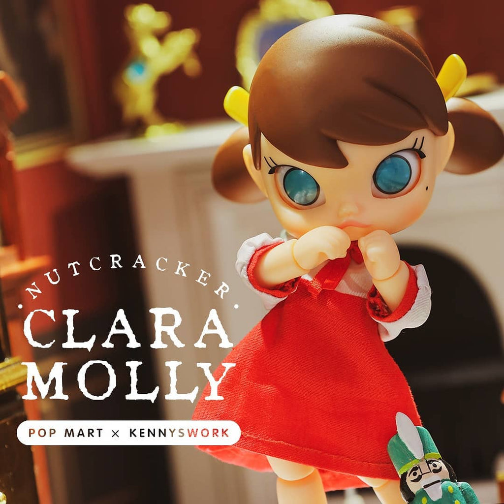 ActionCity Live: Pop Mart Nutcracker Clara Molly BJD - ActionCity