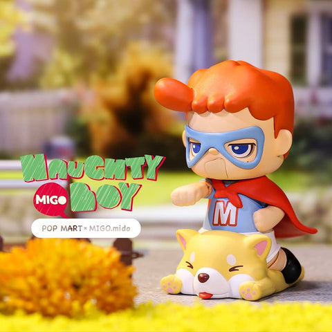 Pop Mart Migo Naughty Boy Series
