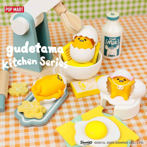 Pop Mart Gudetama Kitchen Series