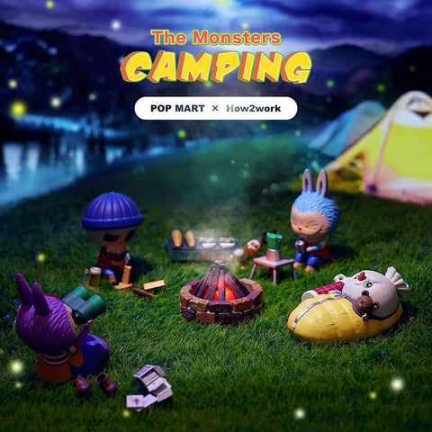 Pop Mart The Monsters Camping Series