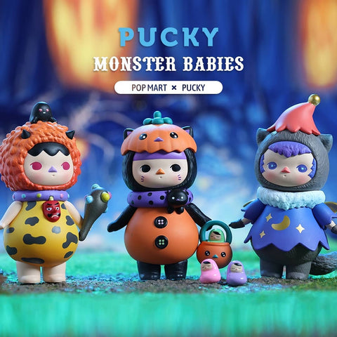 Pop Mart Pucky Monster Babies Series