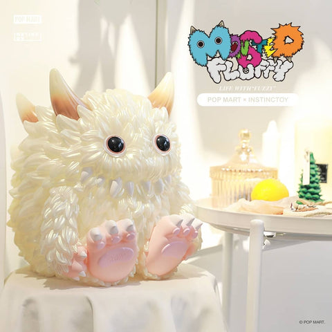 "Pop Mart Instinctoy Monster Fluffy ""Fuzzy"" Light"