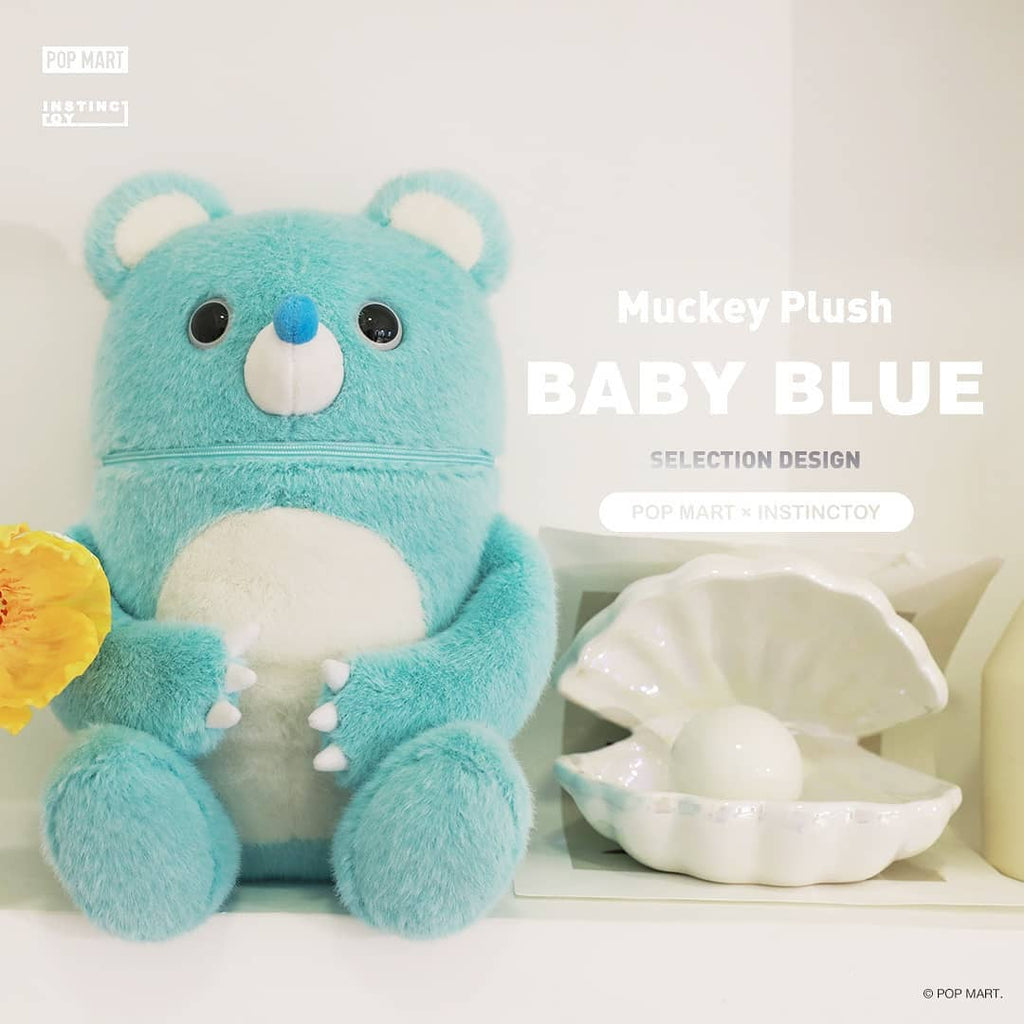 Pop Mart Muckey Plush Baby Blue