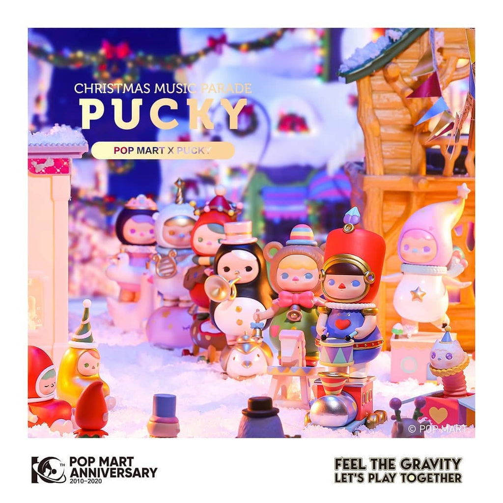 Pop Mart Pucky Christmas Music Parade Series