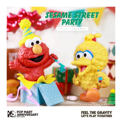 Pop Mart Sesame Street Party Series