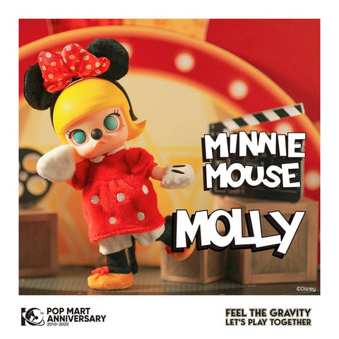 Pop Mart Molly Minnie BJD