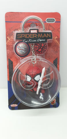 PKEY148N - Cosbaby Figure Keychain - Spider-Man (Web Swinging Version) (BGKE)