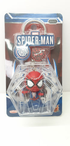 PKEY144N - Cosbaby Figure Keychain - Spider-Man (Advanced Suit) (BGKE)
