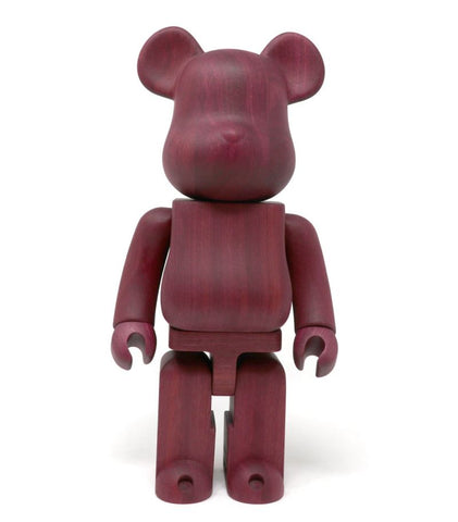 BE@RBRICK Karimoku Purple Heart 400% - ActionCity