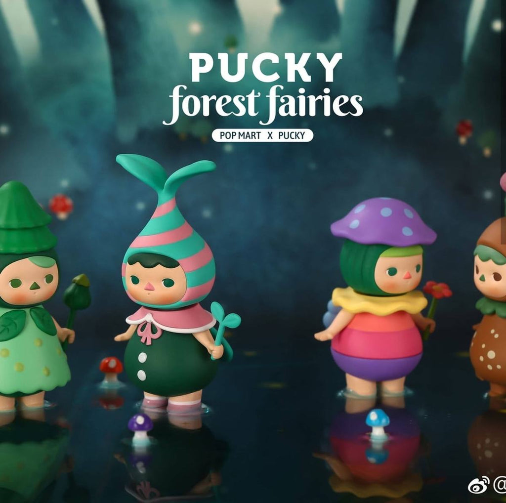 Pop Mart Pucky Forest Fairies Series - Case of 12 Blind Boxes - ActionCity