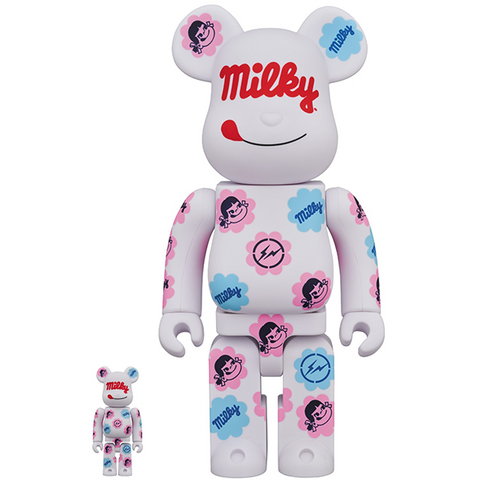 BE@RBRICK Milky The Conveni Milky Color 100% & 400%